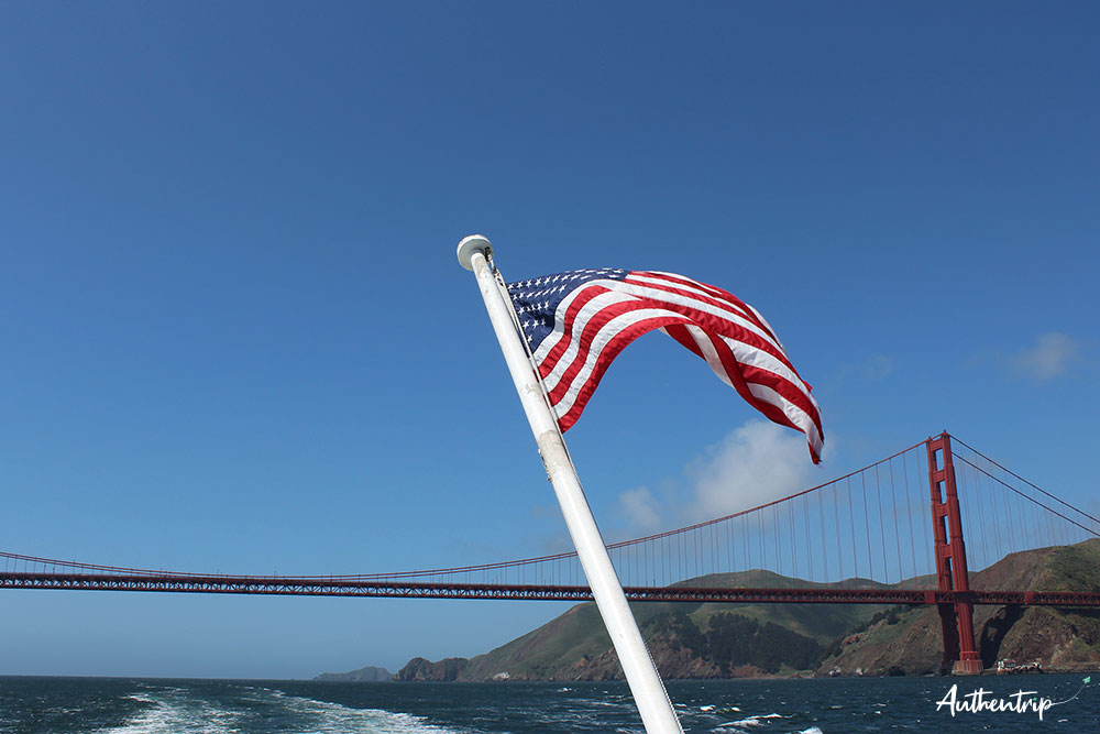 san francisco bateau golden gate