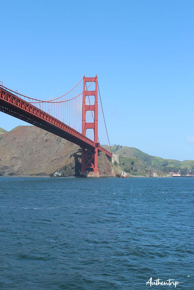 san francisco bateau golden gate bridge