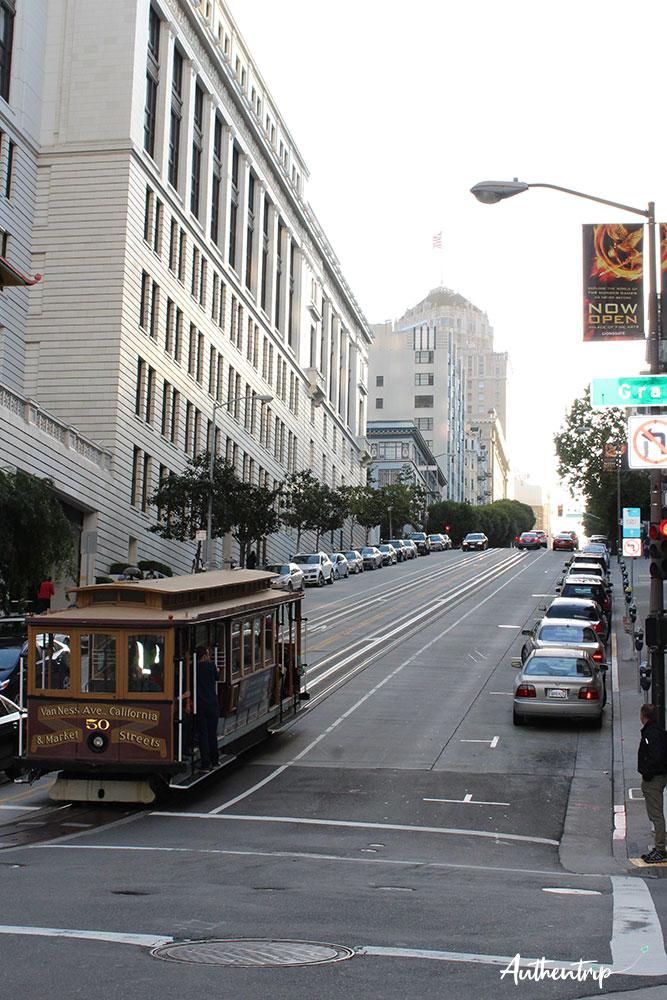 tramway road trip côte ouest états unis