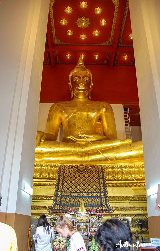 ayutthaya temple bouddha