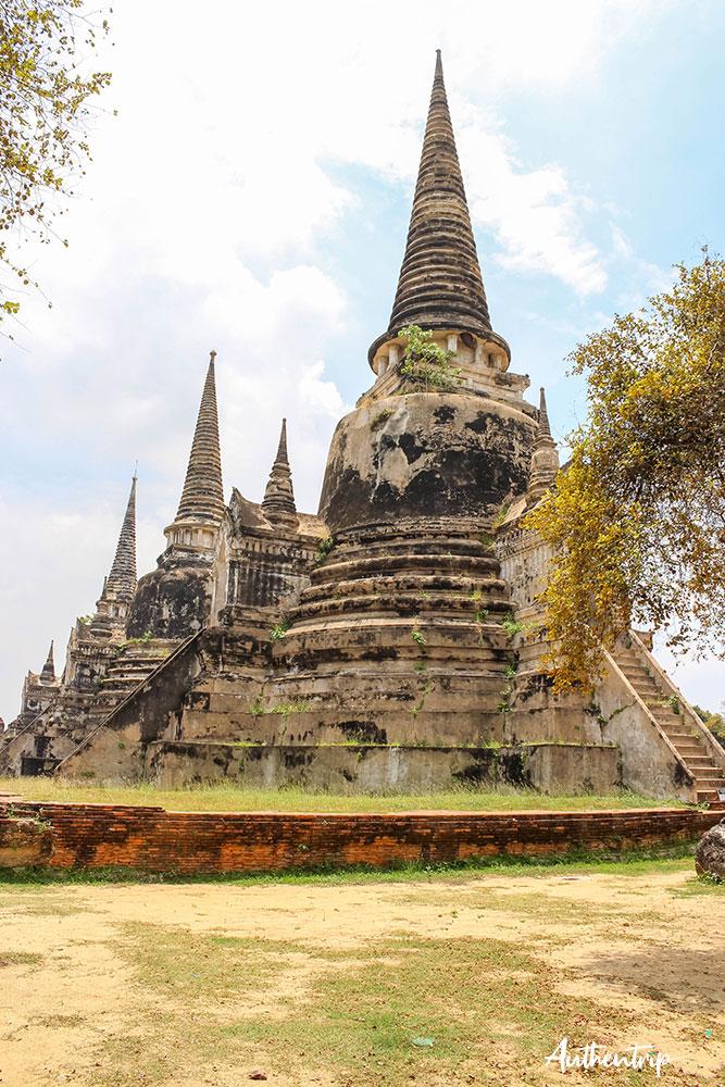 ayutthaya wat para si sanphet