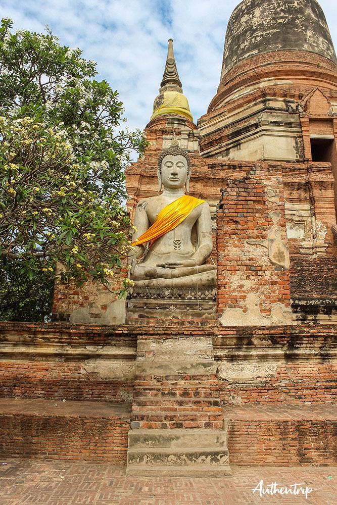 ayutthaya wat yai chai mongkhon bouddha