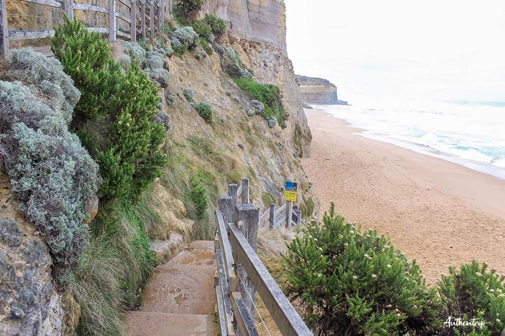 great ocean road gibsons steps