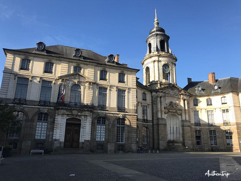 city trip rennes mairie