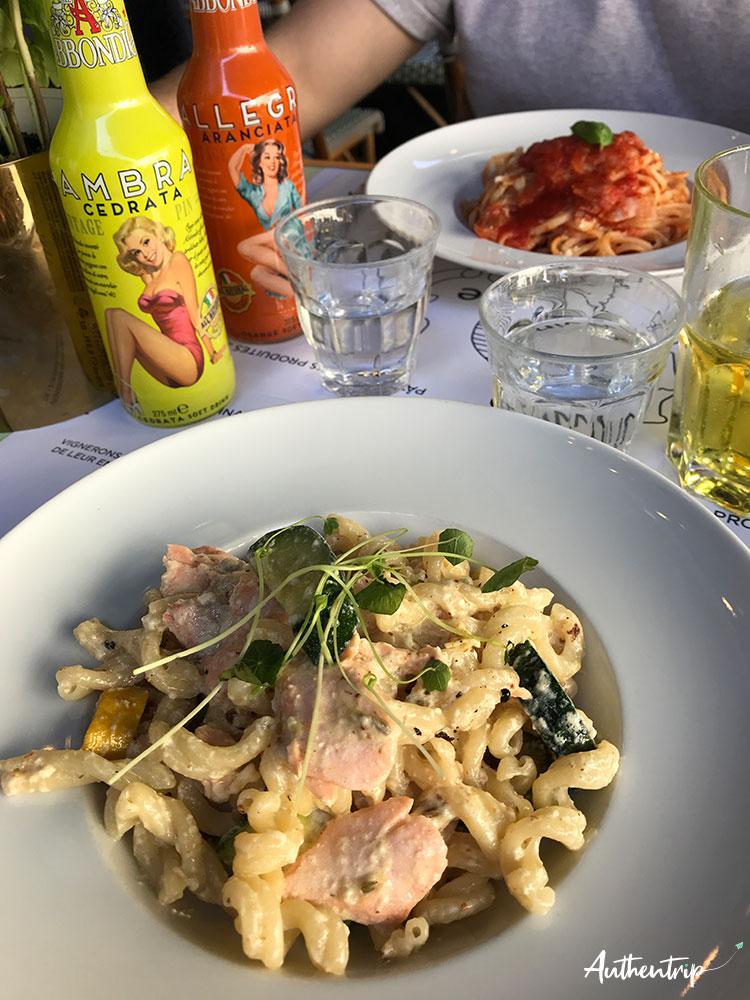 city trip rennes restaurant Vino E Gusto