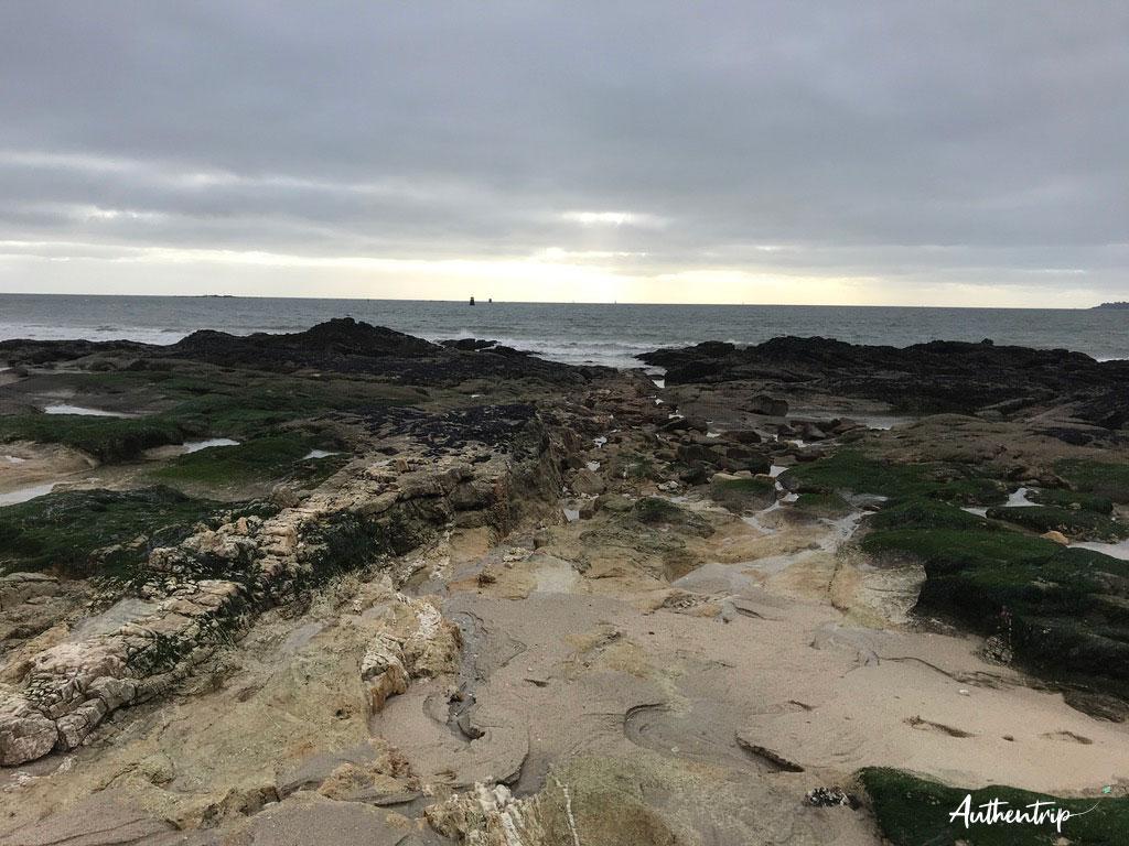 rochers Larmor Plage