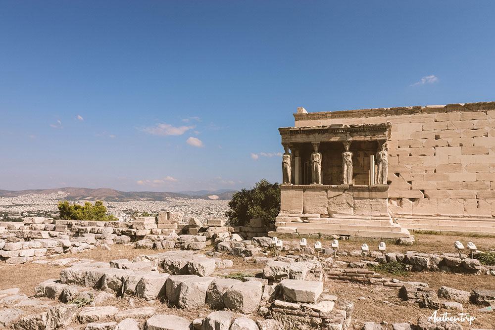 Acropole, Érechthéion