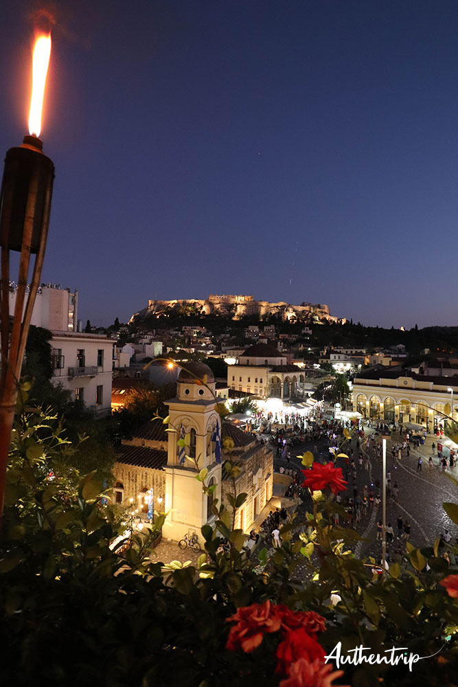 Bar de nuit, Acropole