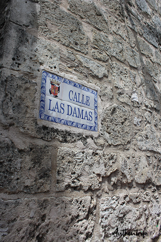 Calle Las Damas république dominicaine