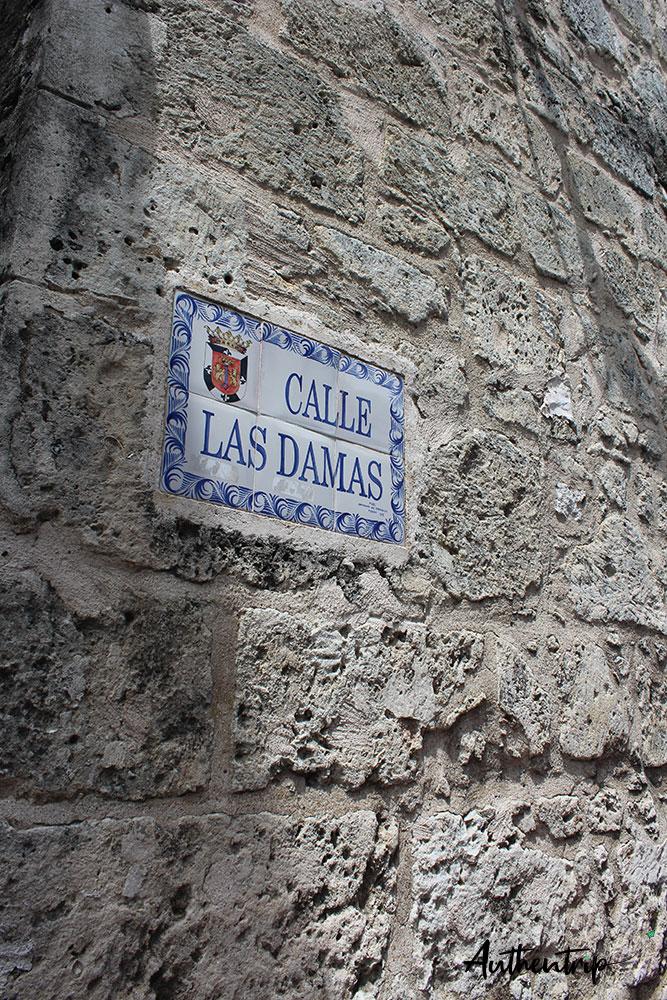 Calle Las Damas république dominicaine