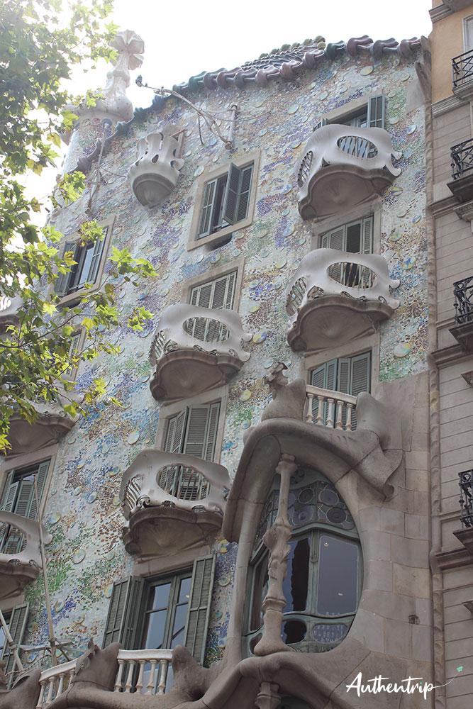 city trip barcelone Casa Batllo