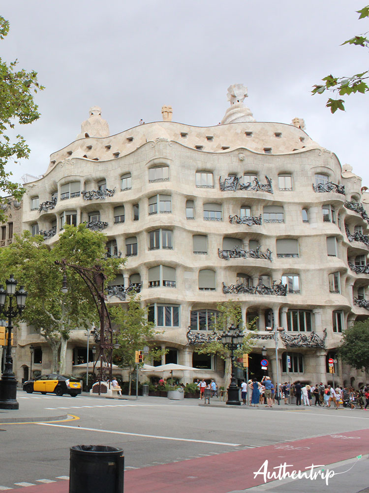 city trip barcelone Casa Mila