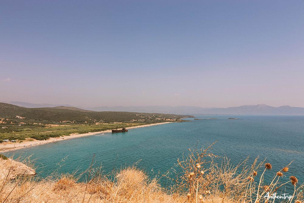 dimitrios vue road trip péloponnèse
