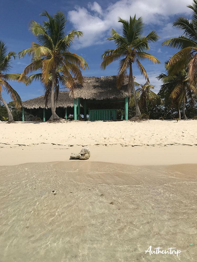 cabane Isla Catalina république dominicaine