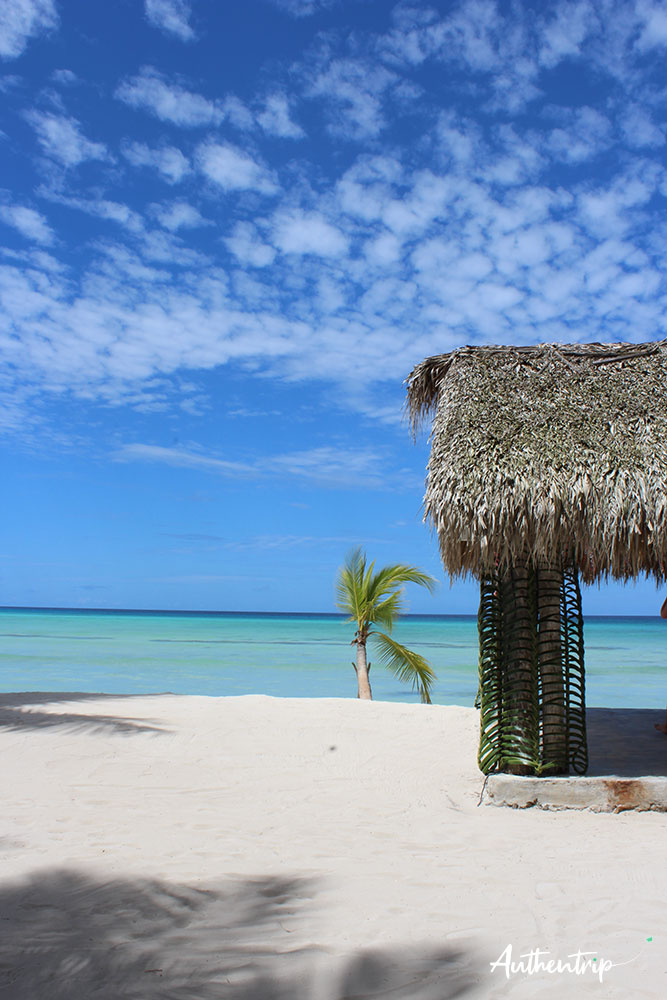 république dominicaine cabane Isla Saona