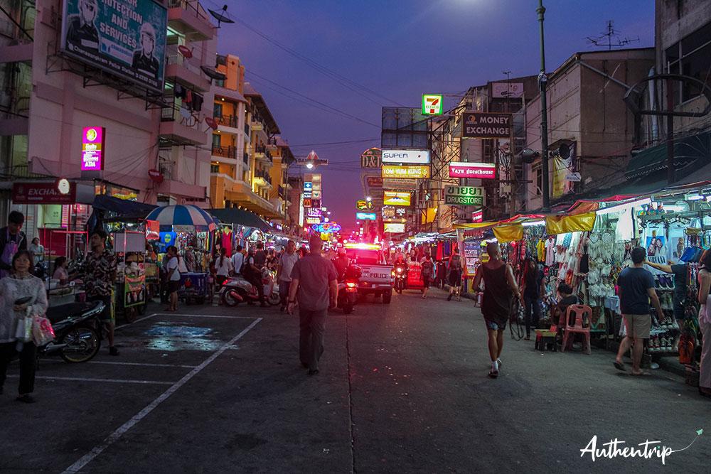 police Khao San Road