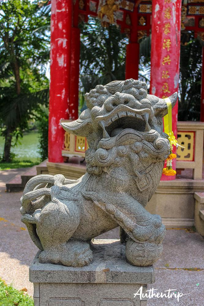 Lion, Lumphini Park