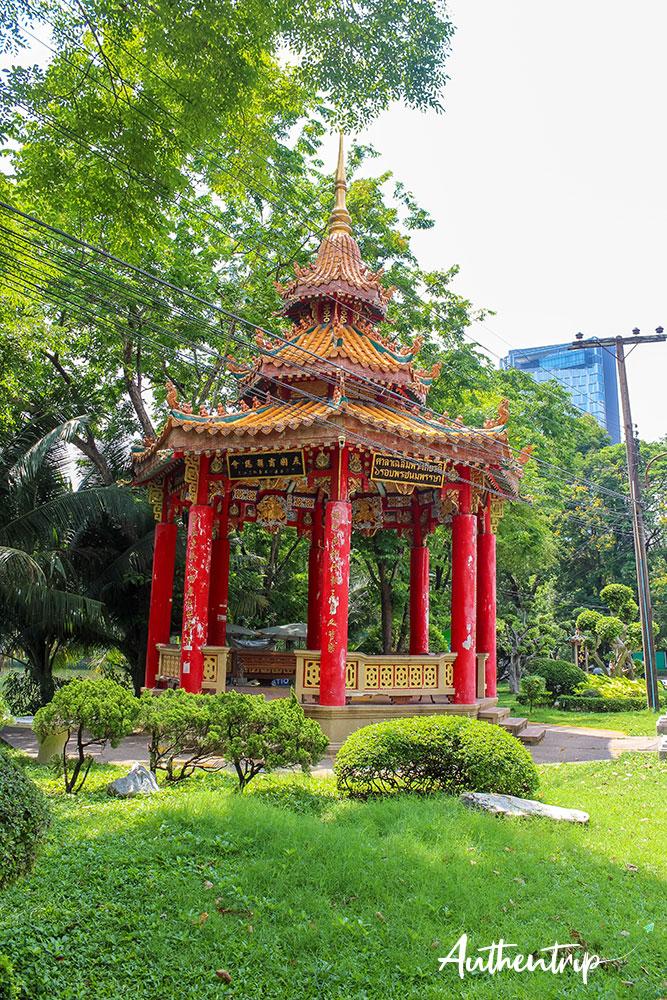 Temple chinois, Lumphini Park