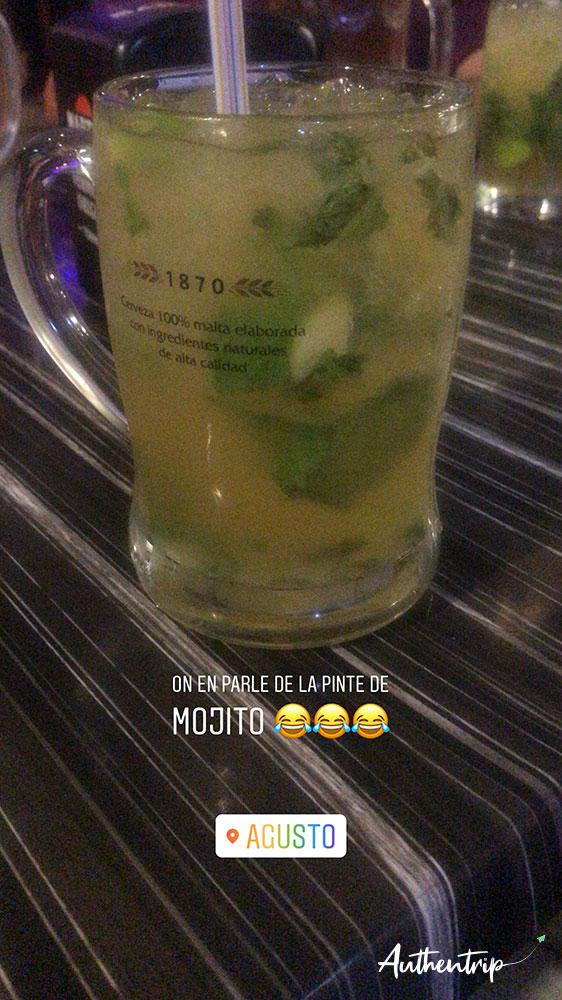 city trip barcelone mojito