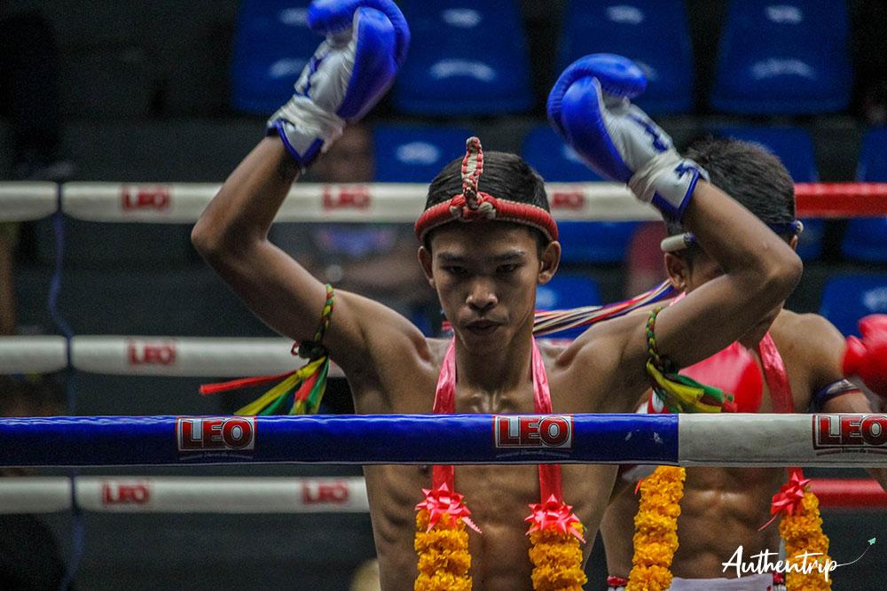 Cérémonie, Muay Thai