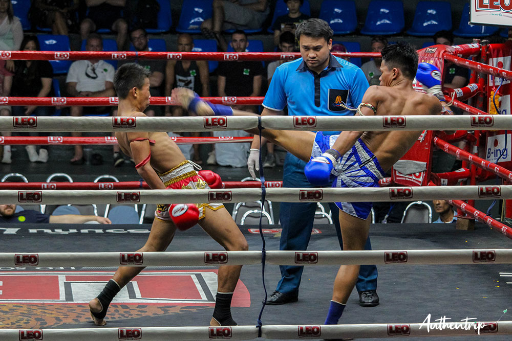 Kick, Muay Thai