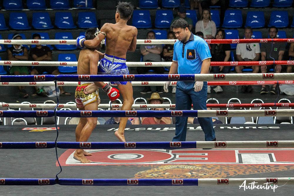 Saut, Muay Thai