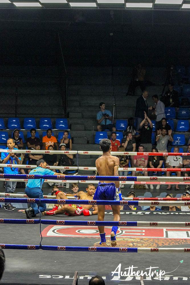 Vainqueur, Muay Thai