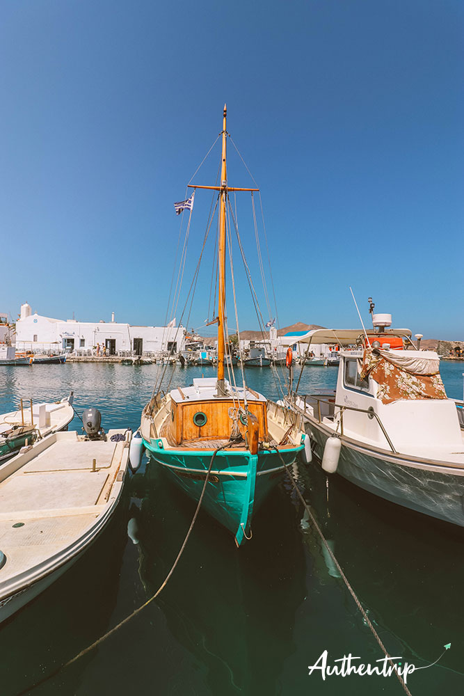 Naousa, bateau
