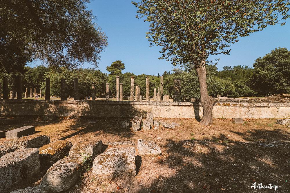 olympie colonnes