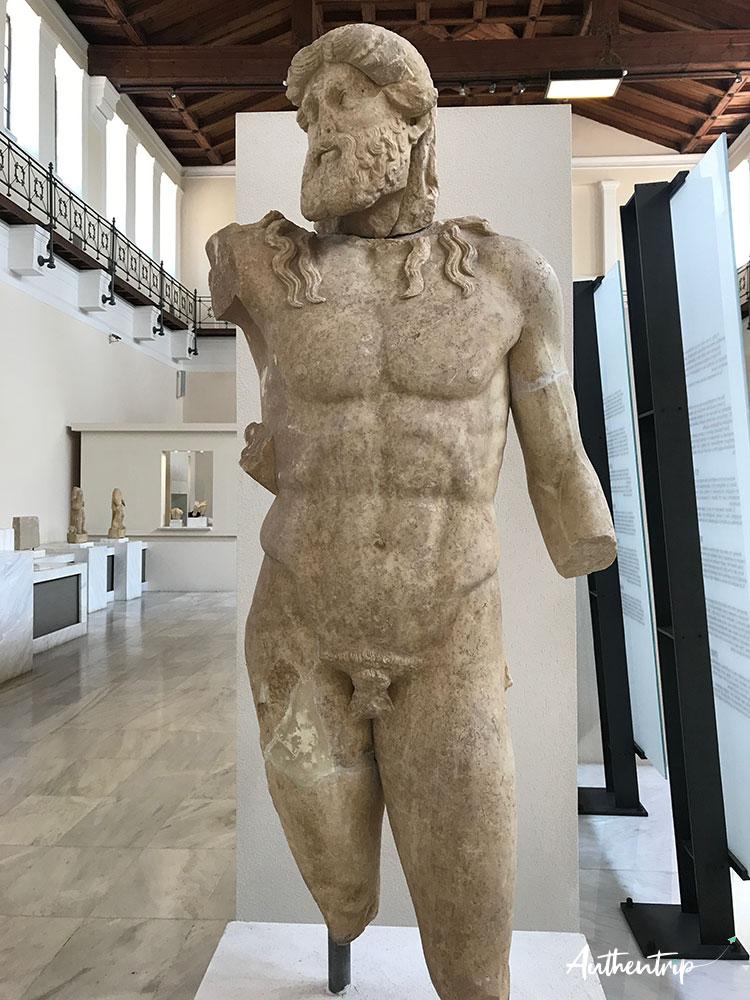 olympie musee zeus