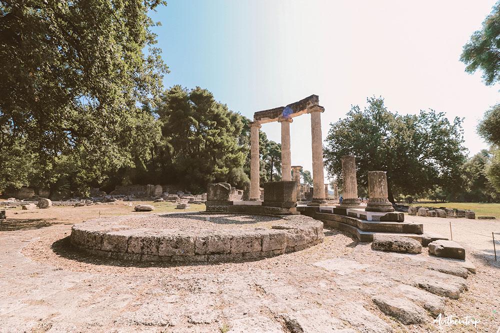 olympie temple