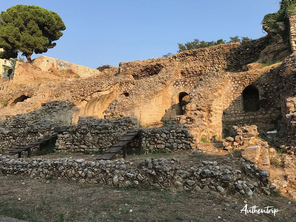 patras ruines