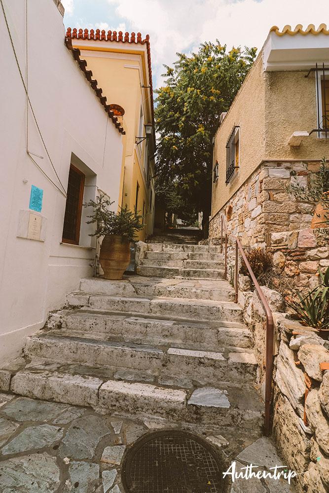 plaka escaliers