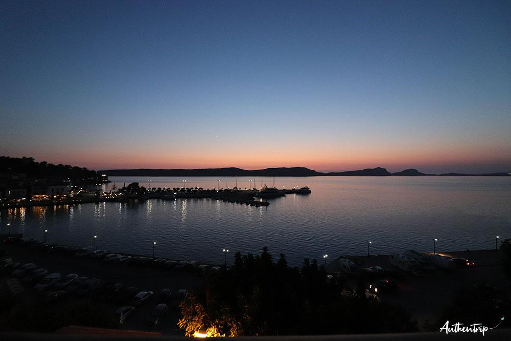 pylos sunset