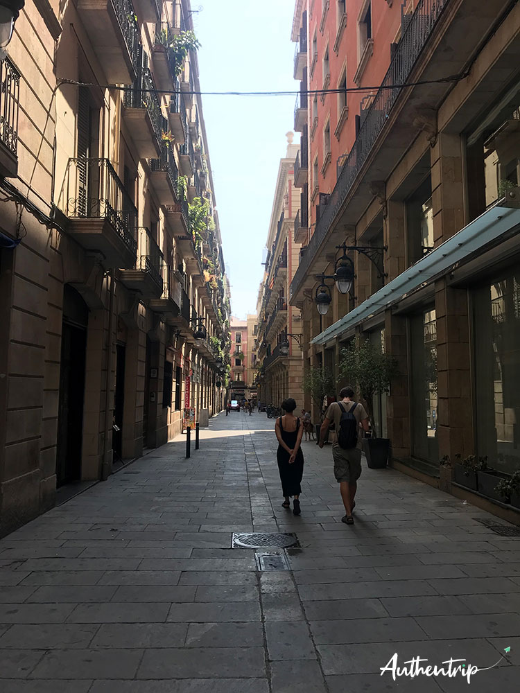 city trip barcelone Ruelle