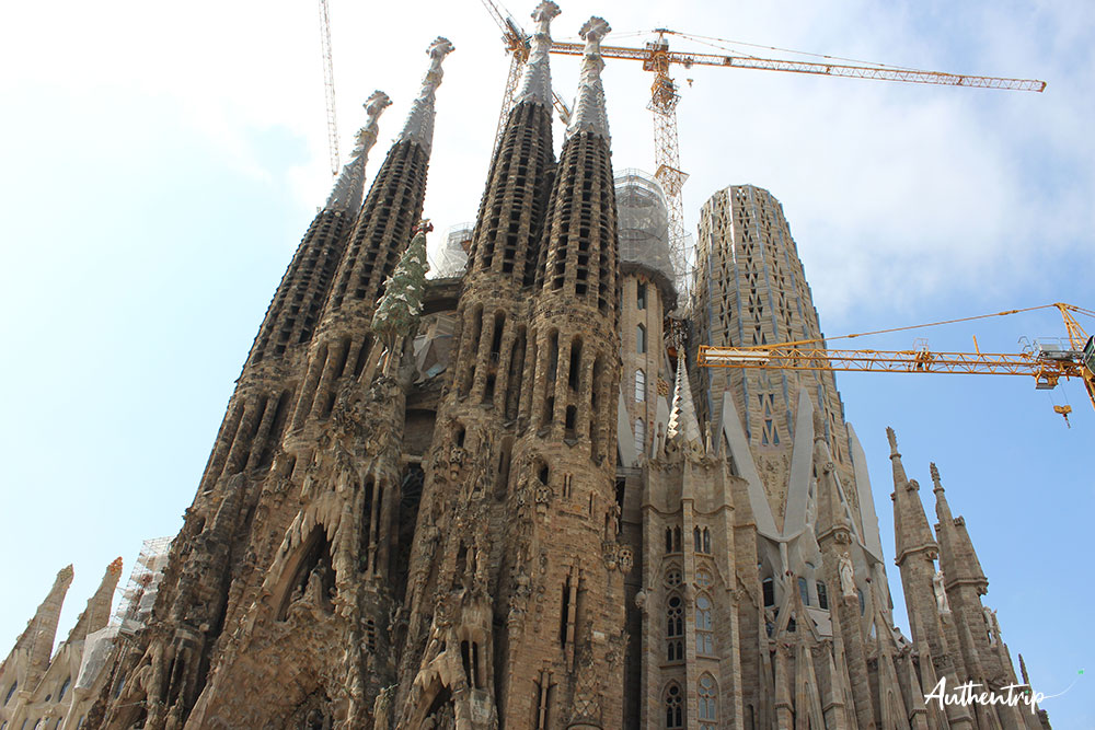 city trip barcelone Sagrada Familia