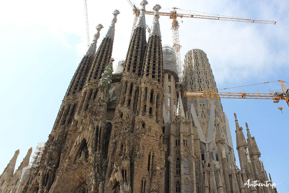 city trip barcelone Sagrada Familia