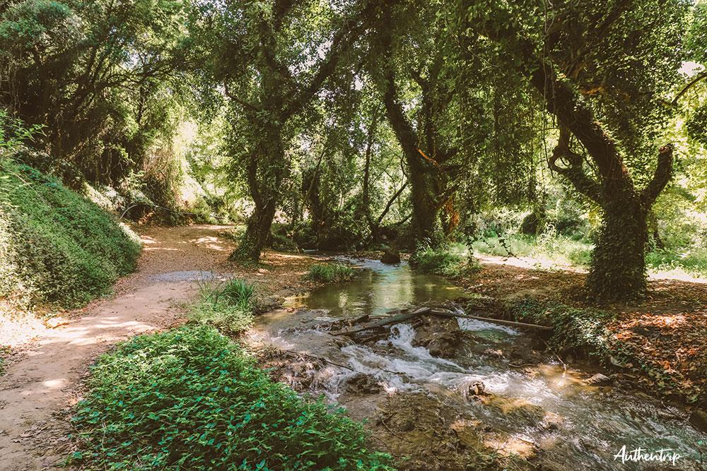 stenosia falls road trip péloponnèse