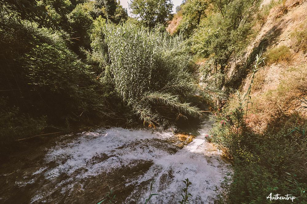 stenosia falls cascade