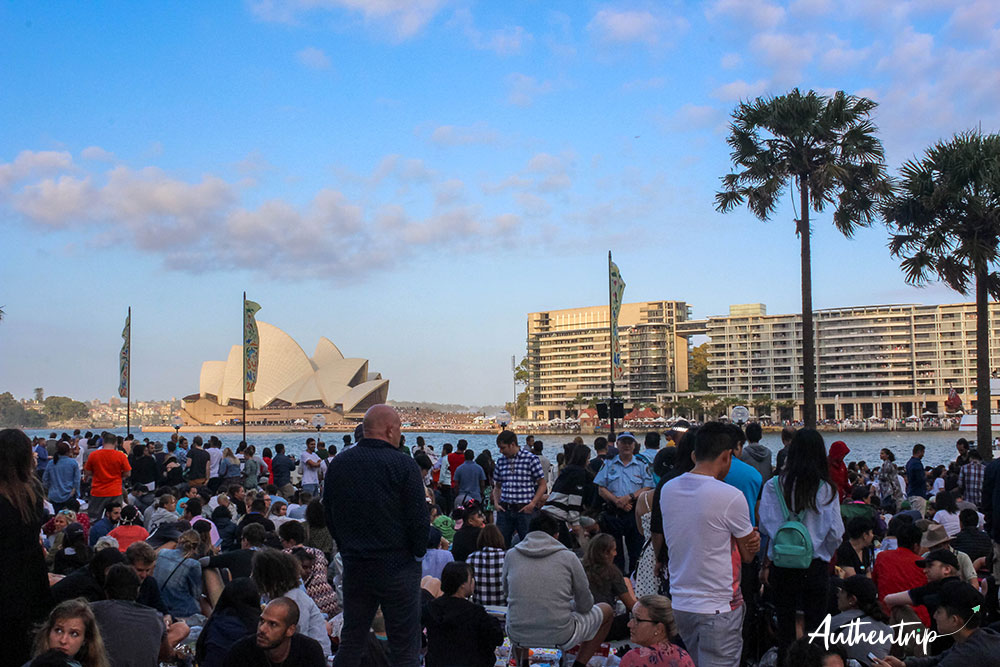 Nouvel an, Sydney