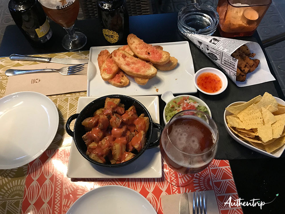city trip barcelone tapas qcuco