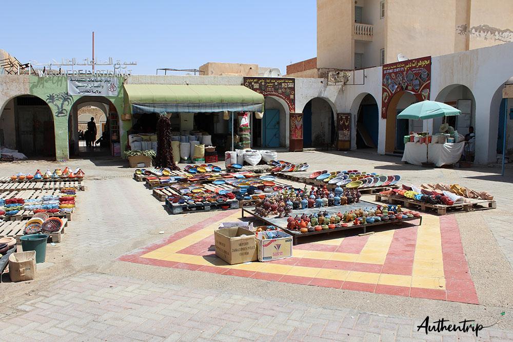 Marché des artisans, Tataouine