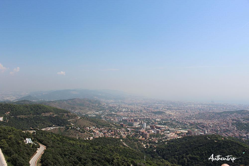 city trip barcelone Tibidabo