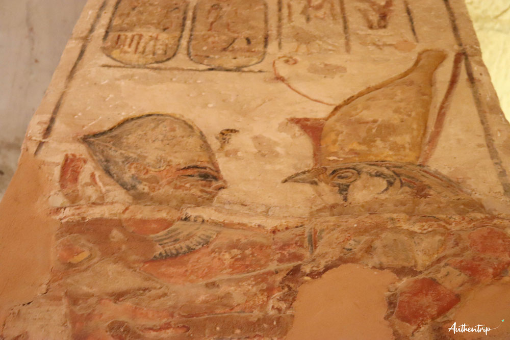 top 5 temples egyptiens, abu simbel, grand temple couleurs