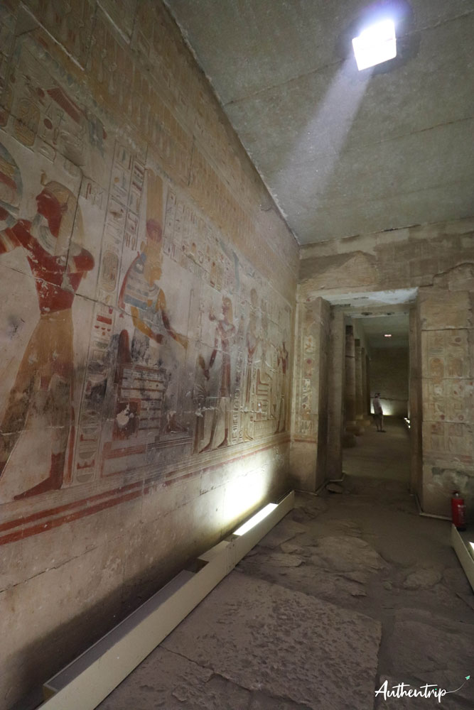chapelle temple abydos