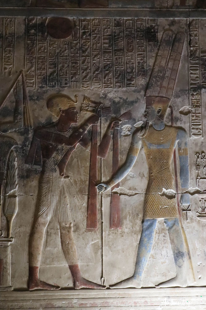 fresque temple abydos
