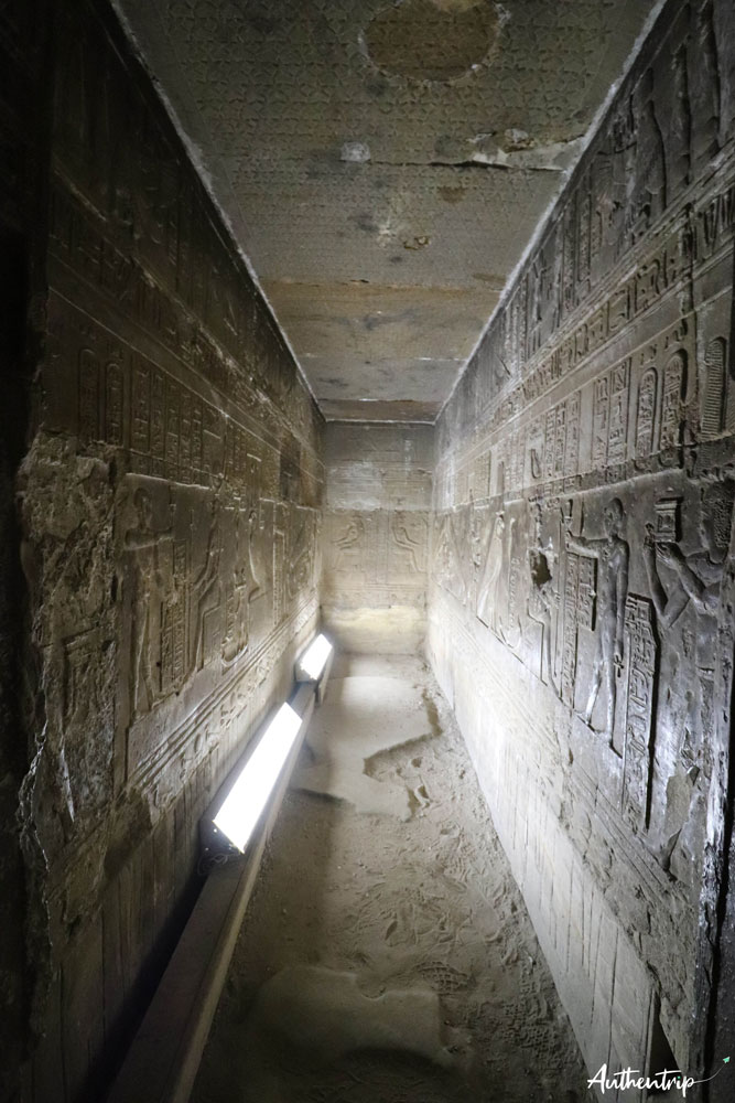 crypte denderah top 5 temples egyptiens