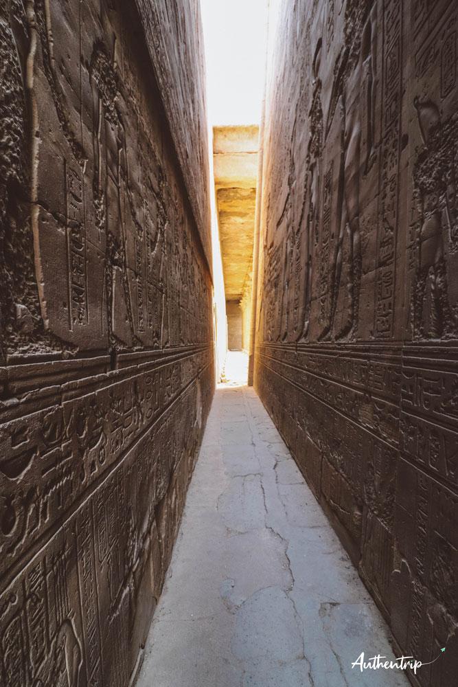couloir temple horus edfou
