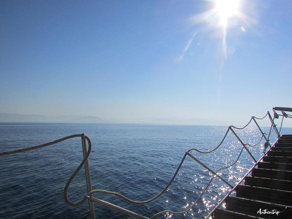 bateau corfou blue lagoon