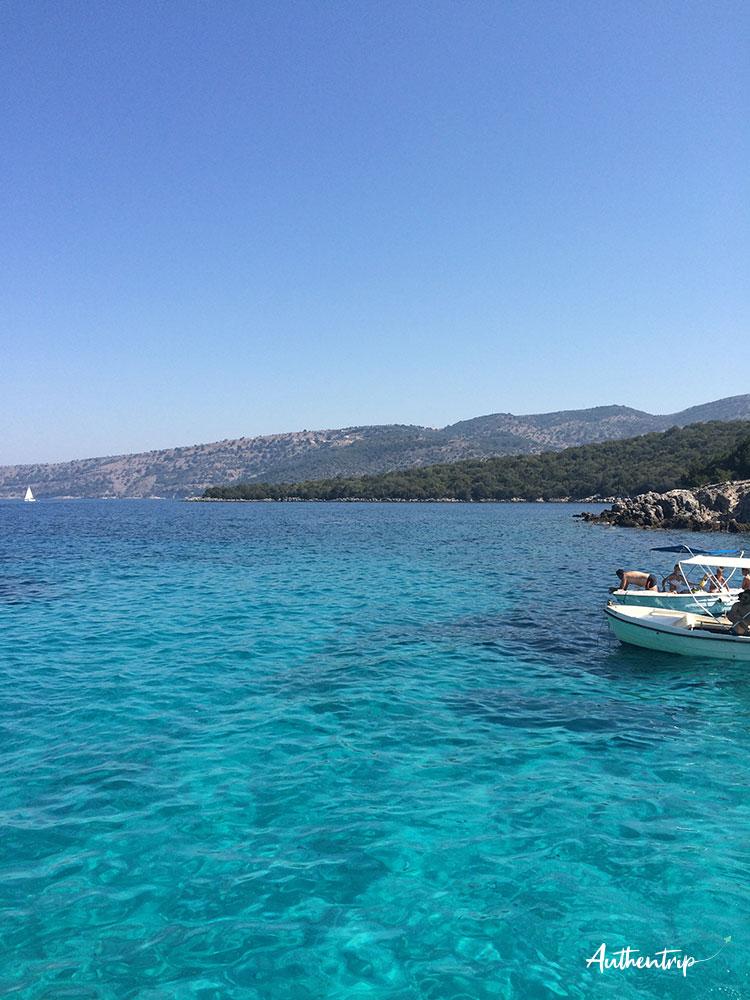Blue lagoon corfou